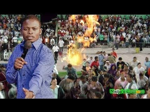 Fire Falls From Heaven Live In Church Prophet Shepherd Bushiri Major 1