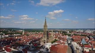 Ulm in 4k - DJI Mavic Pro