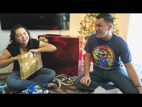 Opening our Christmas Gifts!!!