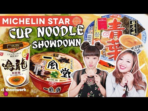 Michelin Star Ramen Cup Noodle Showdown - Hype Hunt: EP30