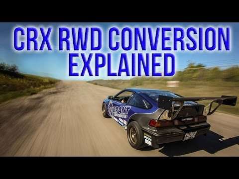 RWD Turbo CRX Build: Episode 2 - Rear End Setup Explained