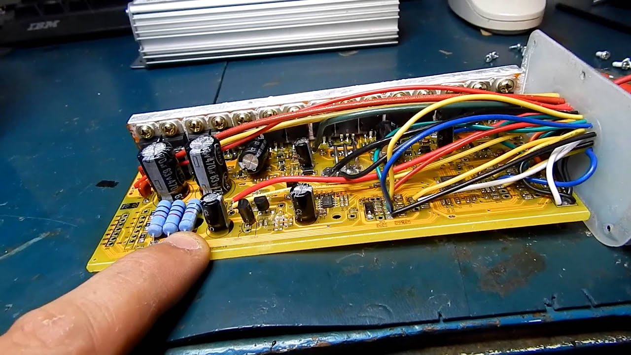 ebike controller shunt modification 35amp to 45amp YouTube