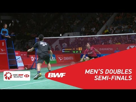 MS | Anthony Sinisuka GINTING (INA) vs CHOU Tien Chen (TPE) [6] | BWF 2018