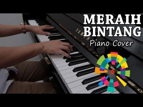Meraih Bintang - Via Vallen (Piano Cover)   Official Theme Song Asian Games 2018   Andhika Sarasono