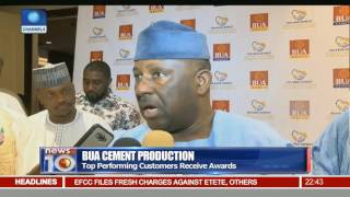 BUA Cement Production: Top Performing Customers Receive Awards
