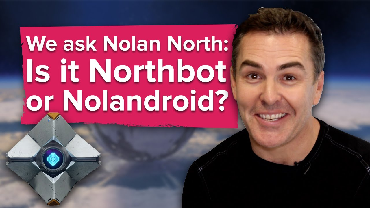 We ask destiny s nolan north is it northbot or nolandroid youtube