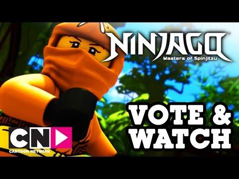 Ниндзяго   Погоня в джунглях   Cartoon Network