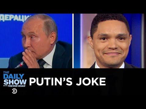 Bronx Zoo Lion Encounter & Vladimir Putin's Election Meddling Joke | The Daily Show