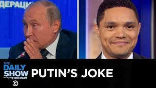 Bronx Zoo Lion Encounter & Vladimir Putin's Election Meddling Joke | The Daily Show