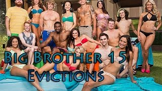 big brother 15 all evictions