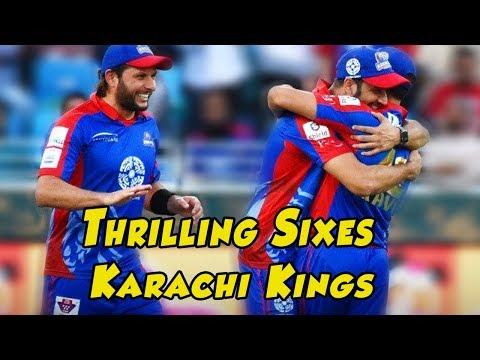 Thrilling Sixes By Karachi Kings   Best Of PSL 2018   Dil Se Jaan Laga De
