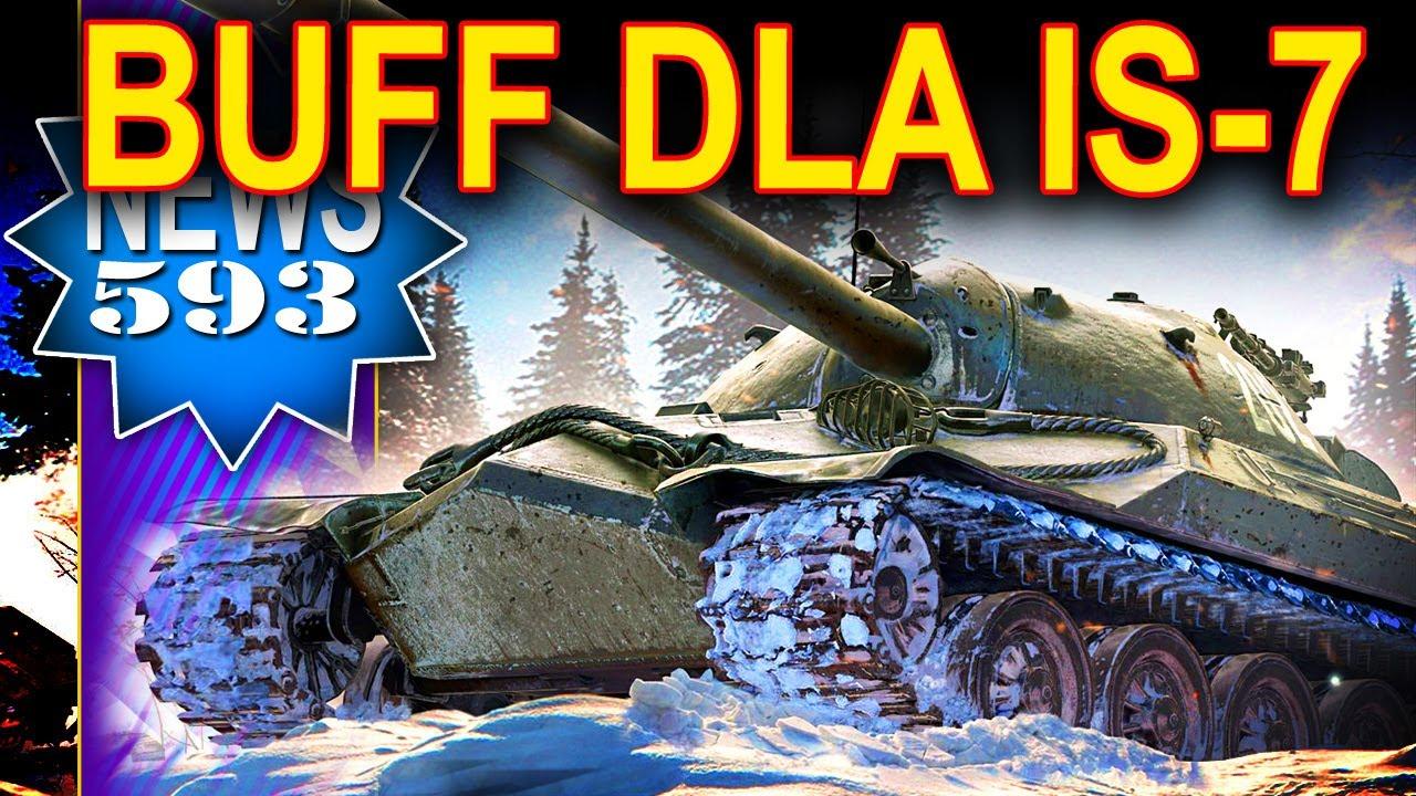 Buff dla IS-7 oraz ISU-152 – NEWS – World of Tanks