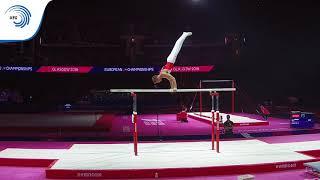 Ian RAUBAL (SUI) - 2018 Artistic Gymnastics Europeans, junior parallel bars final