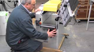 Review Of The Axminster Aw 106 Pt2 Planer Thicknesser