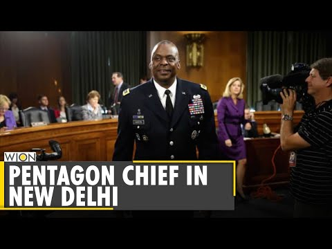 US Defence Secretary Lloyd Austin arrives in India on a 3-day visit | US-India defence ties | WION