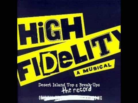 BWAY BARBIE'S KARAOKE - High Fidelity - Desert Island Top 5 Break-Ups