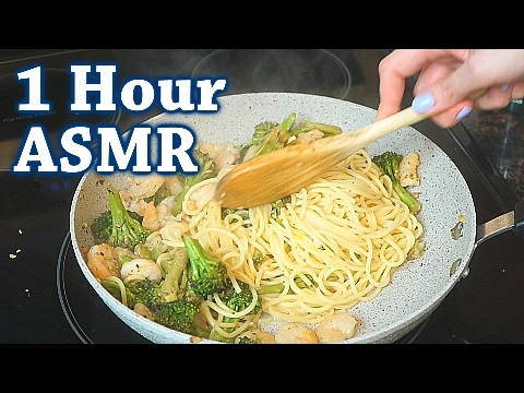 ASMR Relax & Cook with Me | 1 Hour Soft Spoken & So Many Triggers!