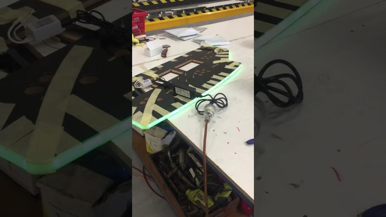 RGB LED T-moulding