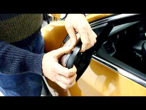 IPD Volvo-  Dynamic Trim Kit Mirror Cover Installation Instructions 2011- S60