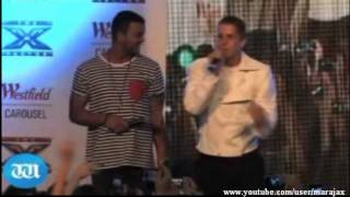 X FACTOR AUS 2011 Johnny Ruffo and  Guy Sabastian Home Visit Perth.mp4