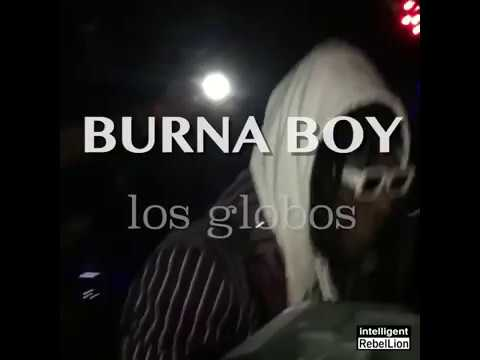 BURNA BOY  live in Los Angeles CA for the first time