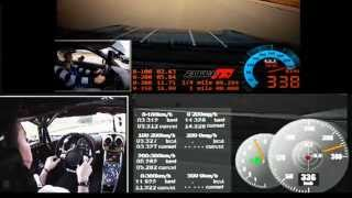 Koenigsegg's run was filmed in Sweden, in 2015. Nissan's run was fi...
