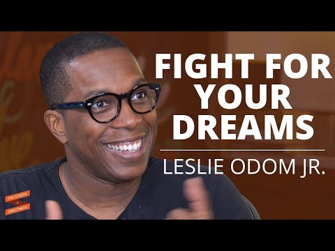 Leslie Odom Jr. on Hamilton and Fighting for your Dreams