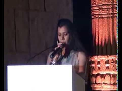 Shefali Saxena Anchoring TAAI AWARDS (TRAVEL AGENT ASSOCIATION OF INDIA),BANGALORE