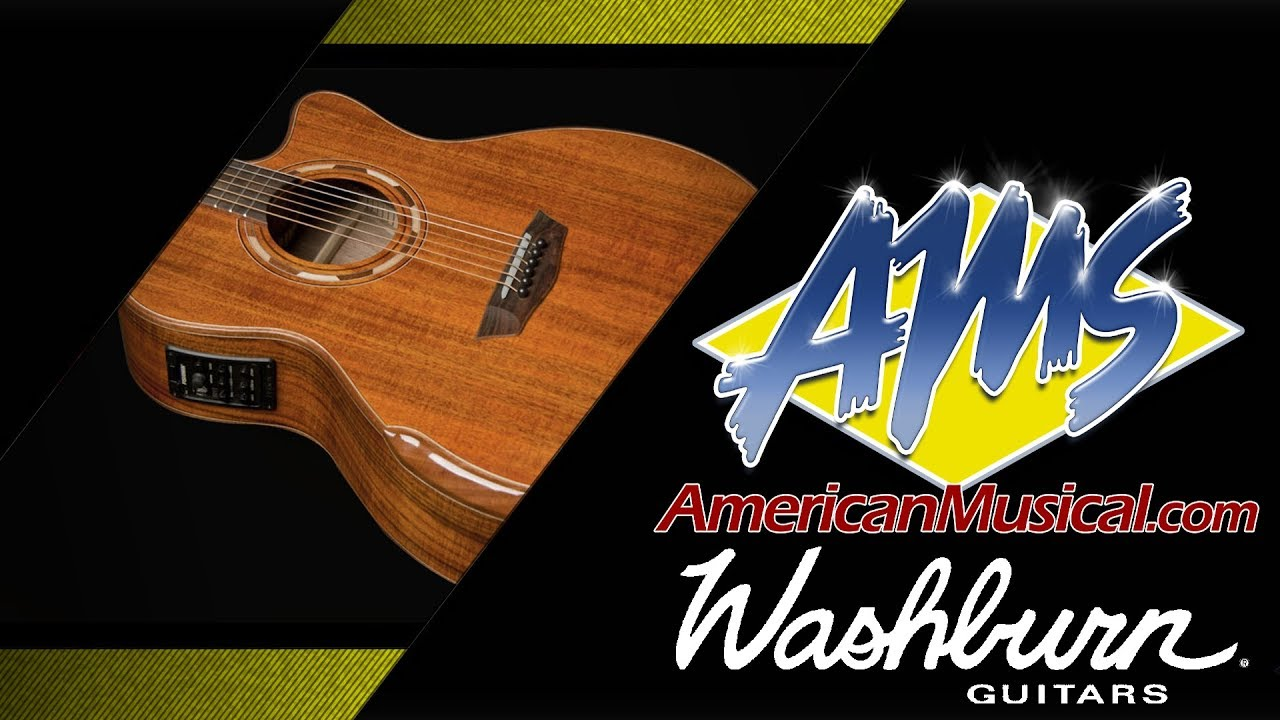 washburn comfort series g55ce overview american musical supply youtube. Black Bedroom Furniture Sets. Home Design Ideas