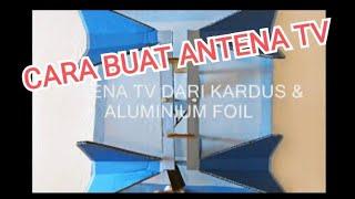 MEMBUAT ANTENA TV DARI BARANG BEKAS