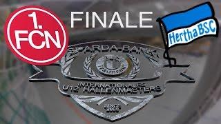 Finale: 1. FC Nürnberg - Hertha BSC Berlin 4:3 / U12 Hallenmasters Tus Traunreut 2016