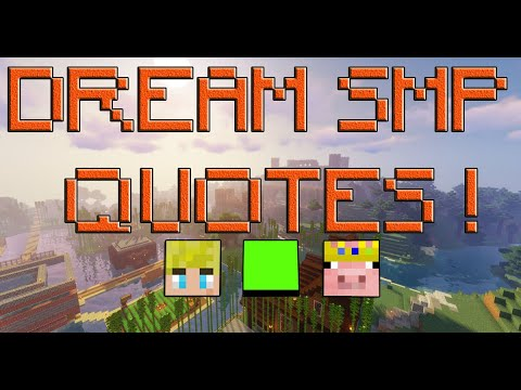 The Most Famous quotes from the Dream SMP !