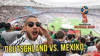 WM 2018 Deutschland VS Mexico ESKALATION im Stadion!!