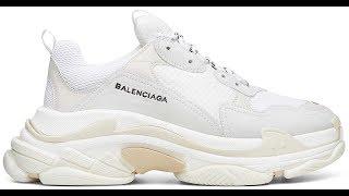 Обзор Balenciaga Triple S White