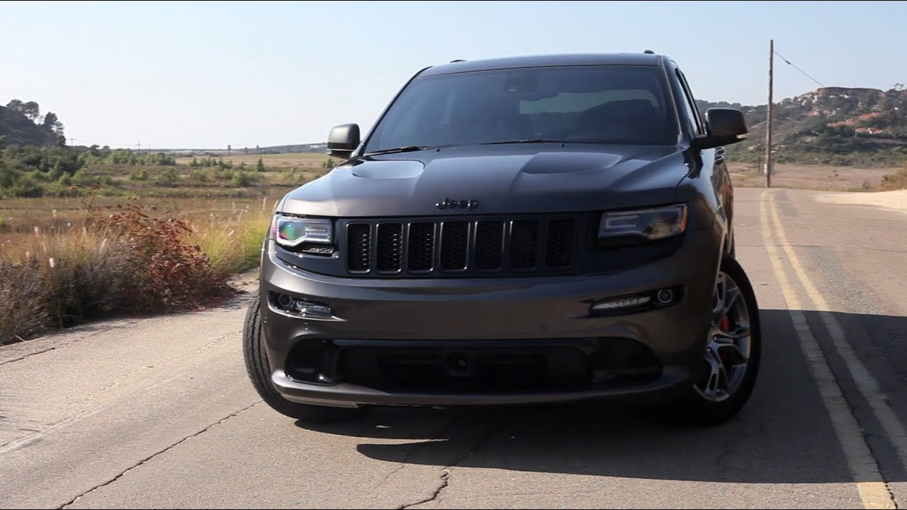 2014 jeep grand cherokee srt magnaflow exhaust & blackout package