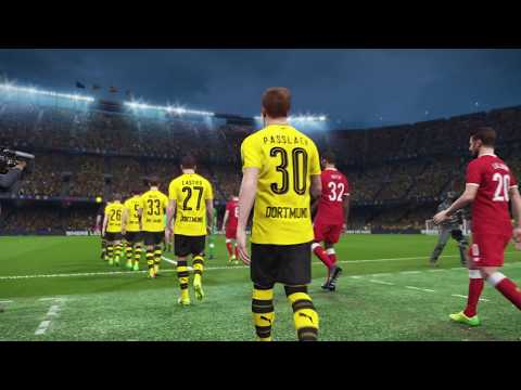 PES 2018 World Tour (Paris) Full Manual Gameplay : Dortmund - Liverpool