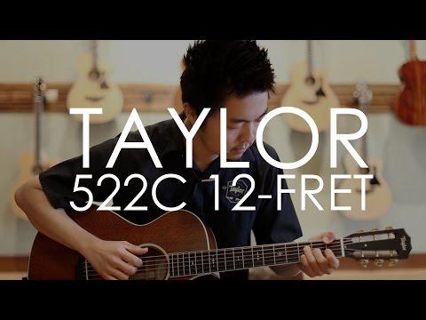 Taylor 522c 12-fret