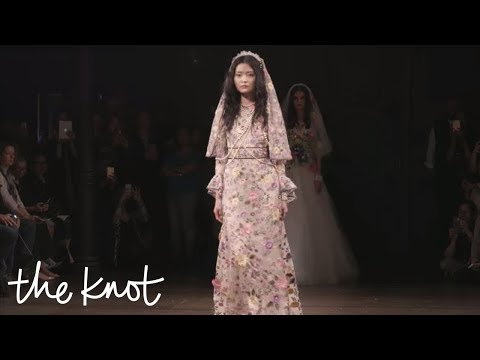 Bridal Fashion Week Spring 2018: Boho Dresses