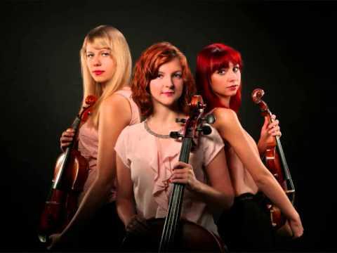 Trio Mosso - El tango de Roxanne ( Moulin Rouge) violin, viola, cello