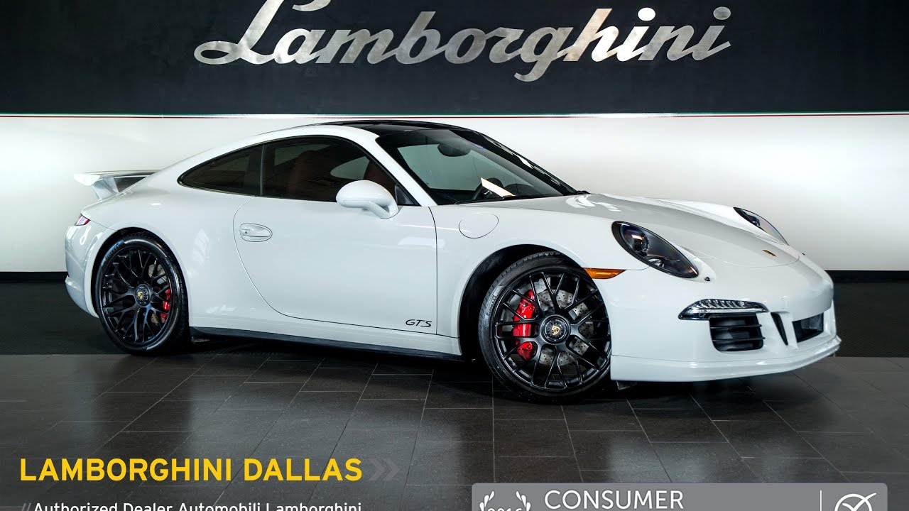 2016 Porsche 911 Carrera Gts White Lt1002 Youtube