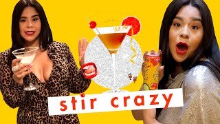 Wow, 'On My Block' Star Jessica Marie Garcia Should Be a Mixologist 😂| Stir Crazy | Cosmopolitan