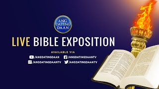 Download lagu Ang Dating Daan Bible Study - Aired: Mon, Apr 27, 2020 7 PM PHT