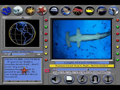 From Stingray to the Hammer Stone from Undersea Adventure MS-DOS/Packard Bell Version.