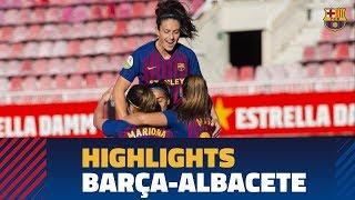 Highlights Femení A - Fundación Albacete (3-1) 1a Divisió Femenina 2018/2019