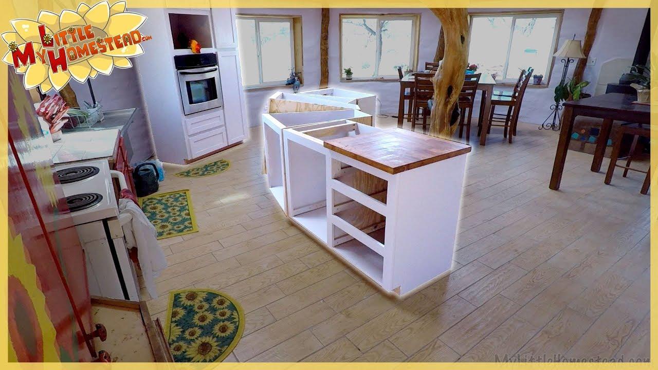 Kitchen Island Cabinet Design Amp Build Gaming Desk