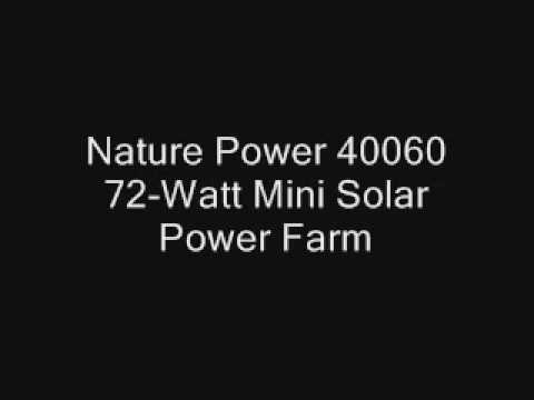 Solar energy Power pros and cons | 72 Watt Mini Solar Power Farm