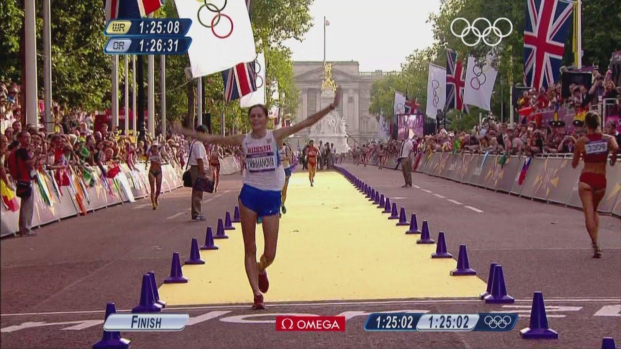 Elena Lashmanova Wins Women's 20km Race Walk -- London ...