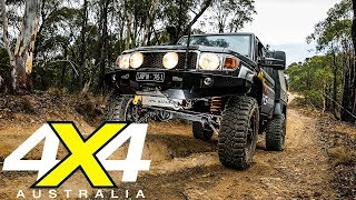 Marks 4WD Land Cruiser 79 in the Vic High Country | 4X4 Australia