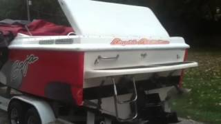 Power boat idle idling 24' baja outlaw