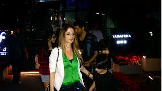 Hrithik And Sussanne Khan Spotted At Yauatcha | Uncut | 2017